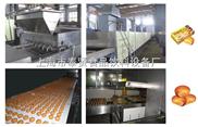 全自动蛋黄派设备生产线
