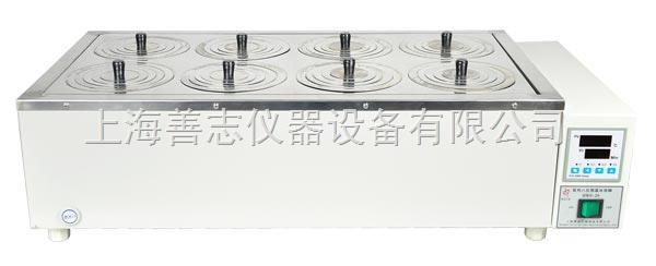 双列八孔恒温水浴锅采用不锈钢