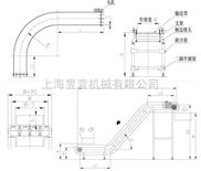 塑钢网带输送机|YY镂空网带输送机-冲击力小机械