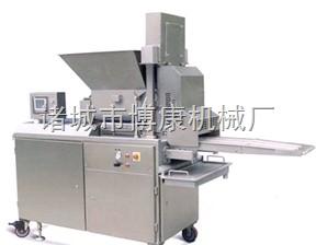 厂家热销——400型爽口肉饼成型机、鱼排成型机