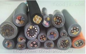 KHFVR2*0.08高温柔软性耐油电缆