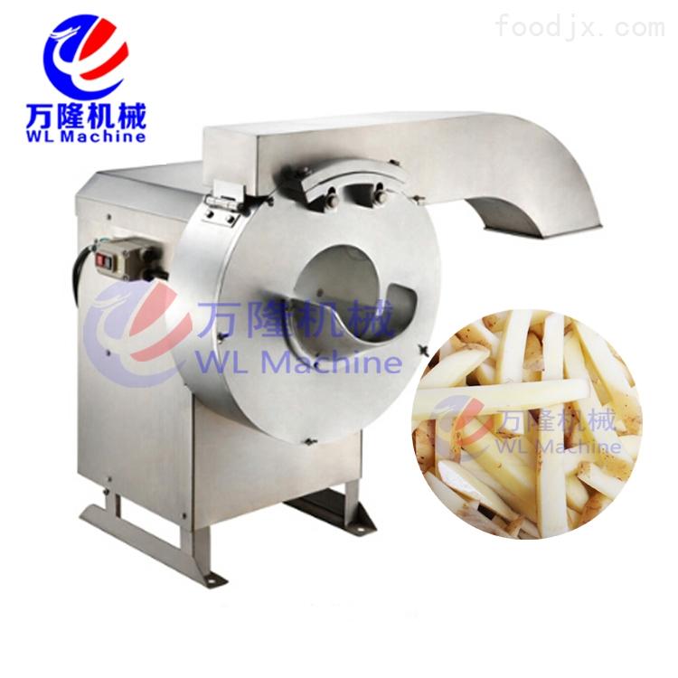 中国台湾高速切薯条机 自动切芋条切萝卜条机