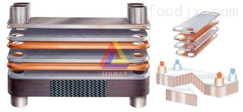 钎焊板式换热器图片