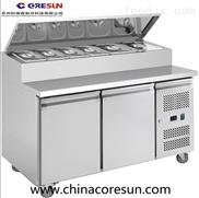 不锈钢三门风冷保鲜厨房餐饮分体式沙拉台|SH2000/800