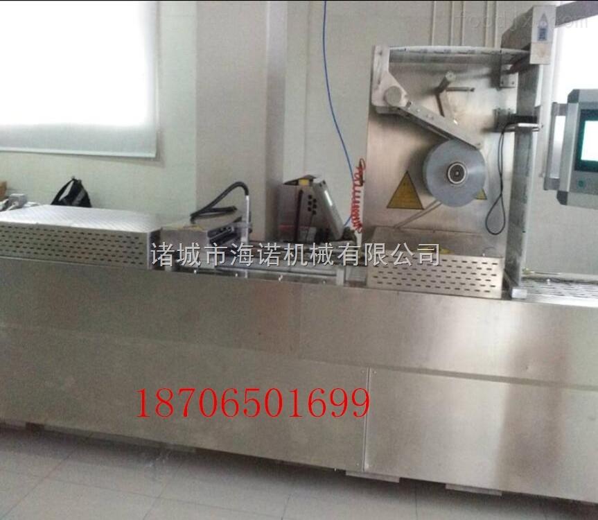 320全自动真空包装机 山东拉伸膜生产厂家 牛肉粒拉伸膜包装机