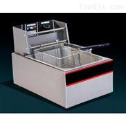 双缸电炸炉|台式电炸炉