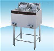济南双缸电炸炉|炸薯条机器|炸