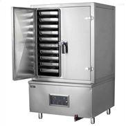 单门12盘蒸饭柜,燃气蒸饭柜