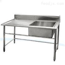 廠家供應不銹鋼單星洗刷池單眼瀝水池 廚房水槽洗滌槽洗菜池