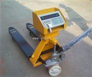 DCS-XK3190-B带打印电子叉车秤,1吨叉车电子称,牛头车秤