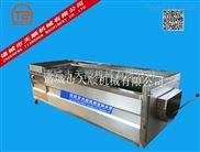 TSXM-15-云南红皮土豆毛辊清洗机 根茎类蔬菜去皮高效清洗机