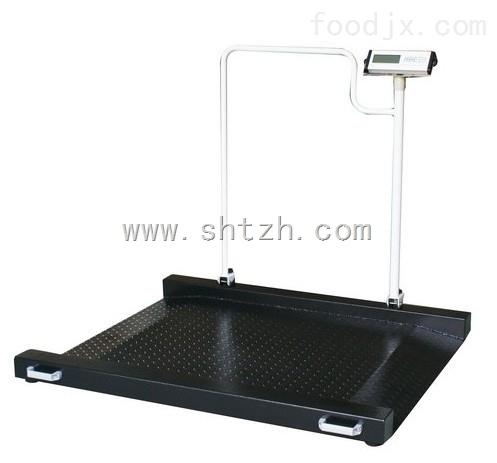 医用带打印轮椅秤 不锈钢 电子秤
