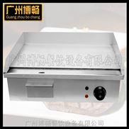 博畅广州电热铁板烧扒炉EG-818台式商用电热平扒炉牛排手抓饼机器