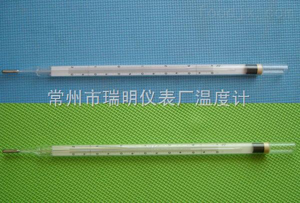 鉴定证书高精度0.2℃WQG-14气象用直管地温计