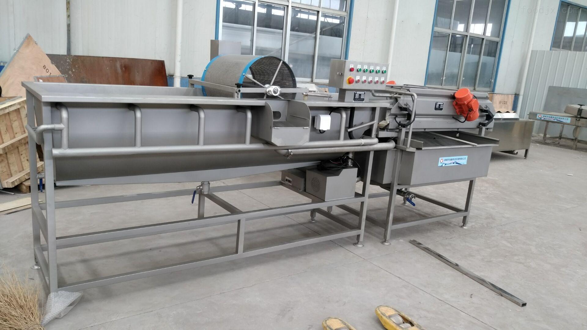 大胡萝卜清洗机_中国食品机械设备网
