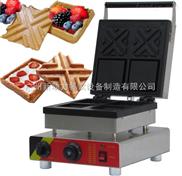 NP-655-电热夹心华夫机,华夫饼模具,松饼炉,糕点设备,华夫烘焙机