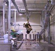 供应屠宰流水线牦牛换轨 牛屠宰加工设备