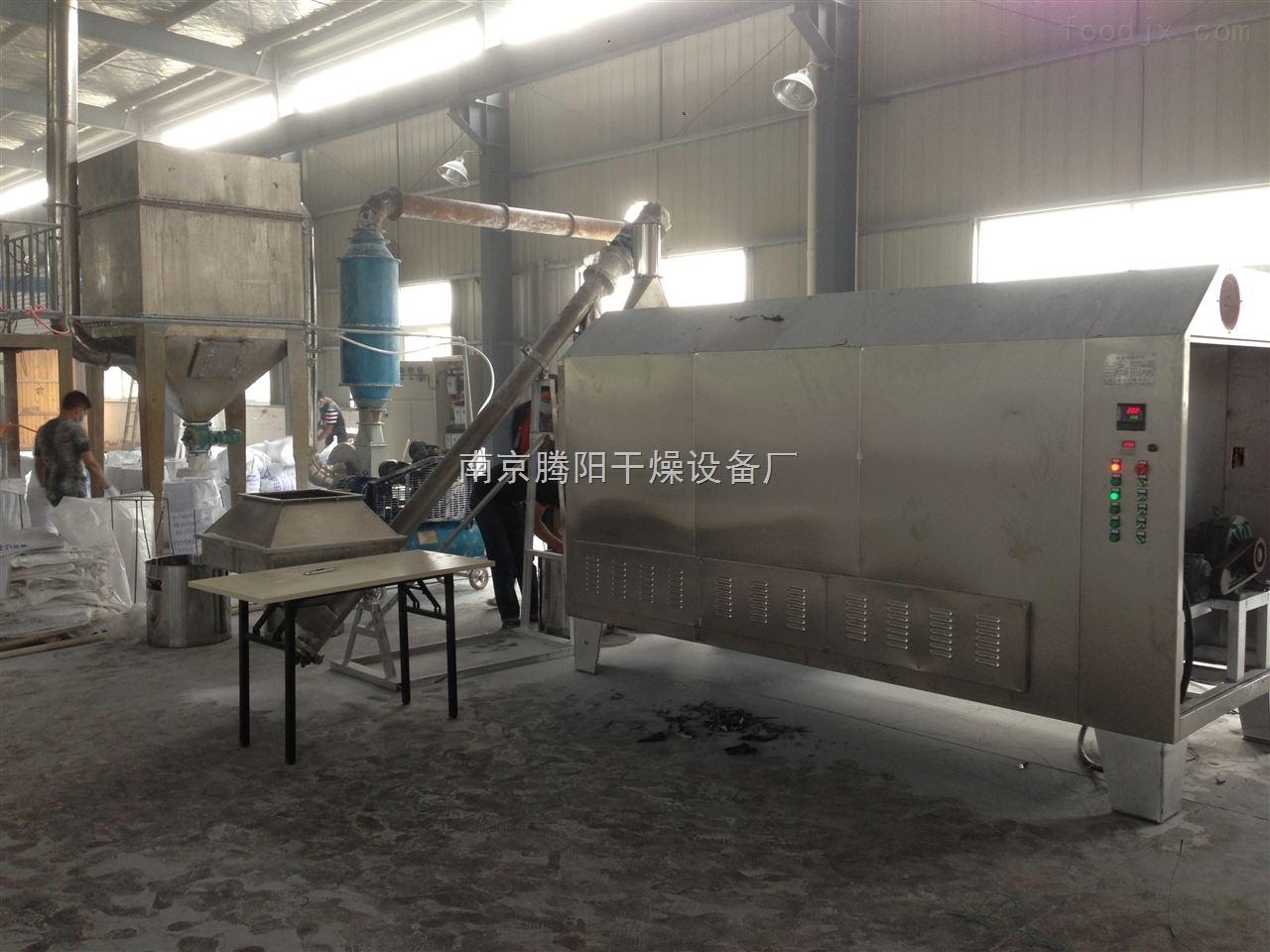 TY-LC-550湖北冻米电热转筒炒米机