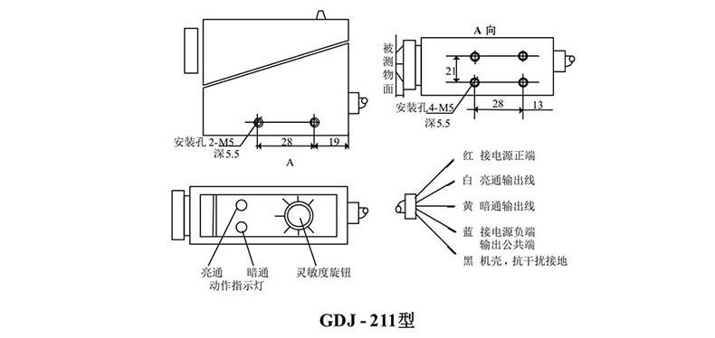 gdj光电检测传感器