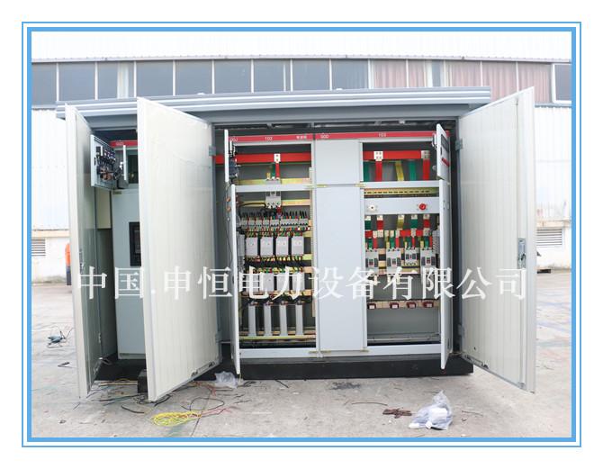 可移动式预装式变电站,yb-12欧式组合式箱式变电站图片