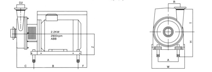 LP不锈钢卫生级防爆离心泵无菌型卫生泵奶泵沙砖机设备图片