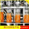 饮料生产线 冲洗、灌装、封盖一体机 液体灌装机